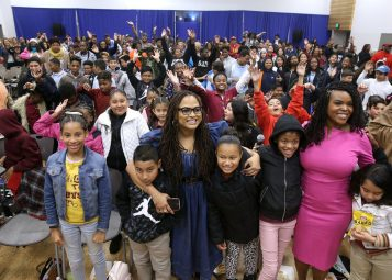 "Ava DuVernay and Mayor Aja Brown Bring ""A Wrinkle in Time"" to Compton"